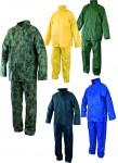 CARINA Водозащитен костюм с качулка, от ПВХ/полиамид Код: 1410 Размер: M-XXXL Цвят: различни Опаковка: 1 комплект в плик EN: 340