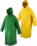 CETUS Наметало с качулка от ПВХ/полиестер, 0.32 мм. Код: 1403-2;1403-3 Размер: L-XXXL Цвят: жълт и зелен Опаковка: 1бр. в плик EN: 340