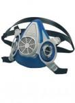 ADVANTAGE 200LS  Полулицева маска с две гнезда, подходяща за всякакви условия на труд. Мека, гъвкава комбинация от гума и пластмаса, осигуряваща висока надеждна.ост и комфорт. Код: 430357, 430356, 430358 Размер: S, M, L Цвят: син Опаковка: 1бр. в кутия EN: EN 140